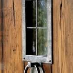 gothic door solid wood