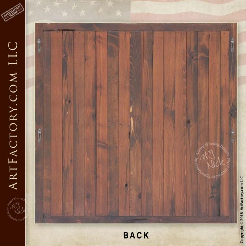 Custom Dart Board Cabinet Handmade By Master Craftsmen