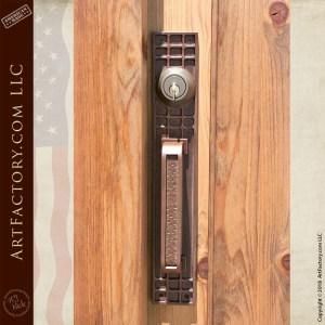 custom craftsman door handle