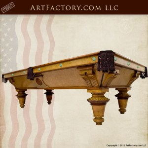 Phelan & Collender inspired pool table