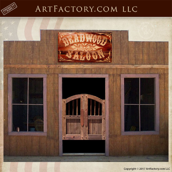 old west saloon doors ... & Old West Saloon Doors: Custom Handmade From Solid Wood