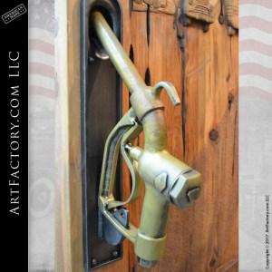 gas nozzle door handles