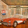 Man Cave Doors Garage Doors Mother Road RT 66
