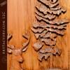 Deer Carved Dart Board