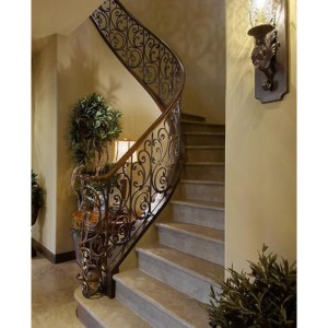 Stair Rails - Lighting - Customer Provided Photo