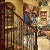Decorative Iron Stair Railing