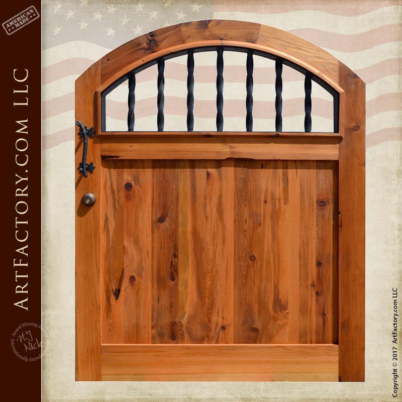 Classic Wooden Garden Gate ...