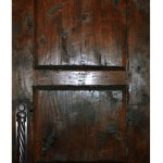 rustic contemporary wood doors