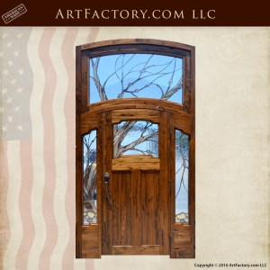 Cherry Blossom Theme Door