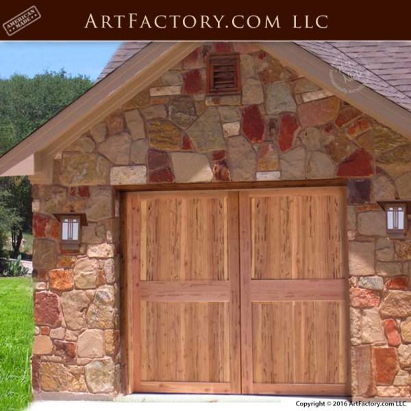 Craftsman Carriage Garage Doors