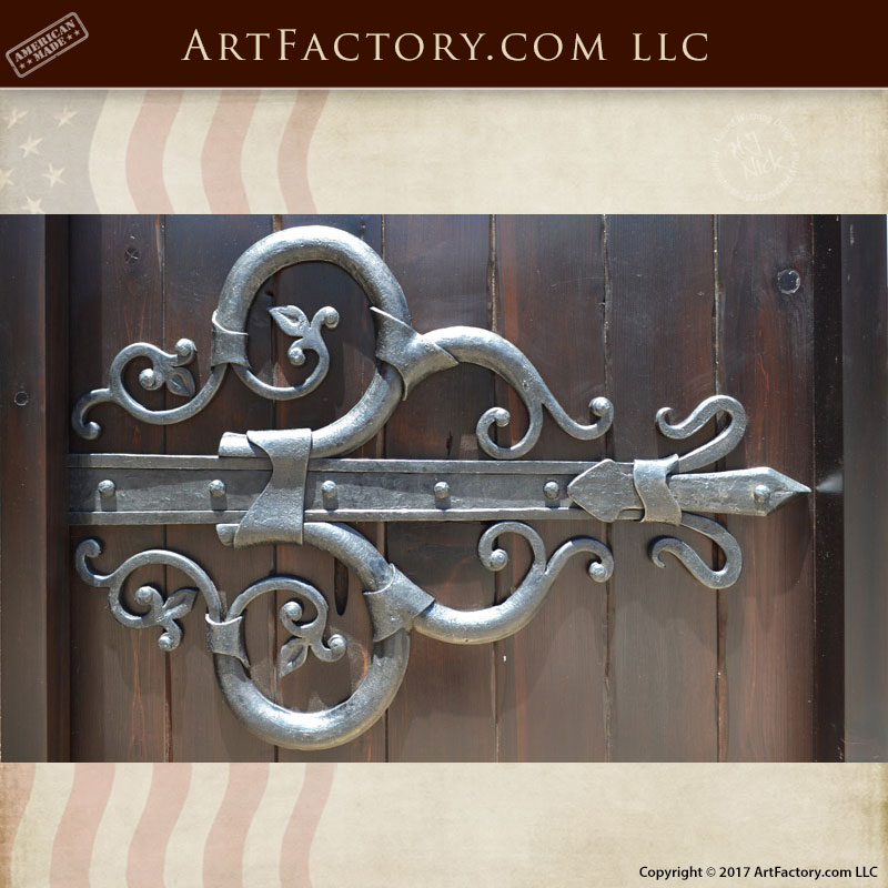 Merveilleux Decorative Wrought Iron Hinges U2013 Solid Wrought Iron U2013 CDH777