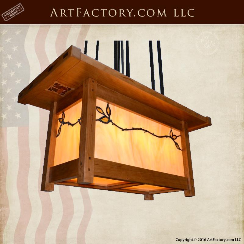 custom craftsman lighting design inspirations