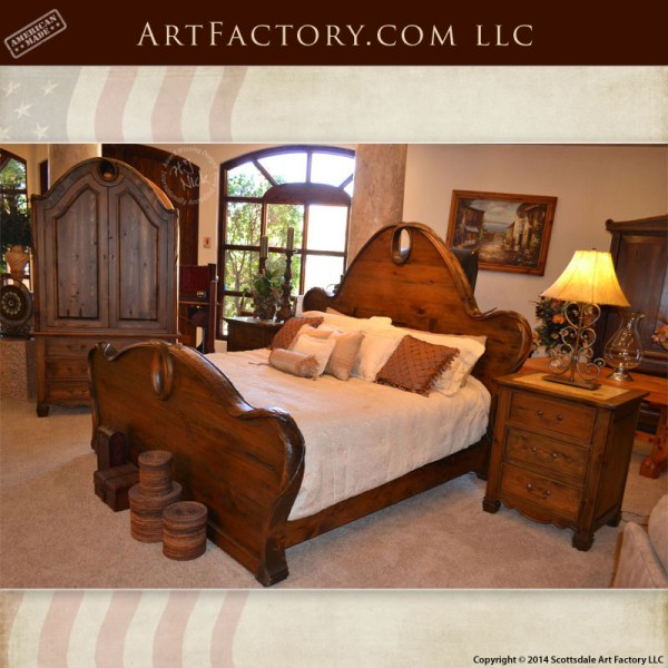 Magnificent Art Nouveau Style Bedroom Set Matching Bed Armoire And Download Free Architecture Designs Osuribritishbridgeorg