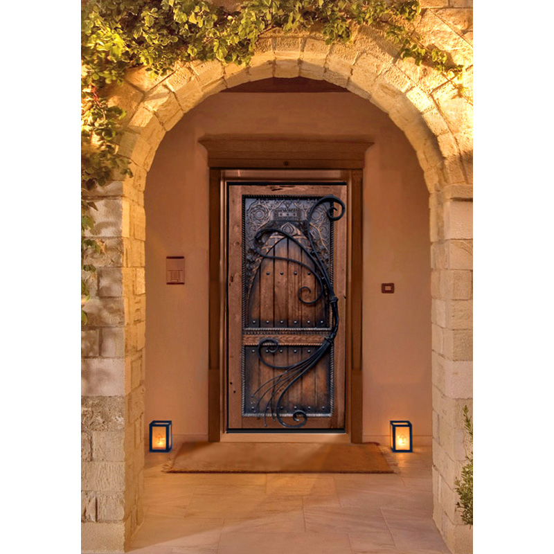 custom exterior entrance door