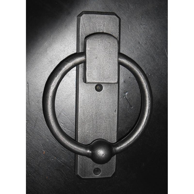 ring pull, door pull, door handle, modern industrial