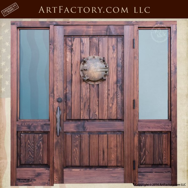 Nautical Exterior Custom Door Uss Mispillion Portal