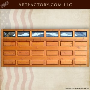 Solid Craftsman Garage Doors