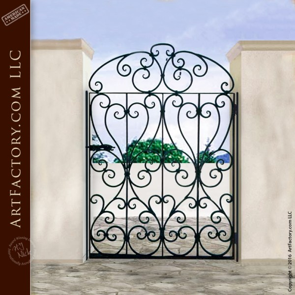french design gate