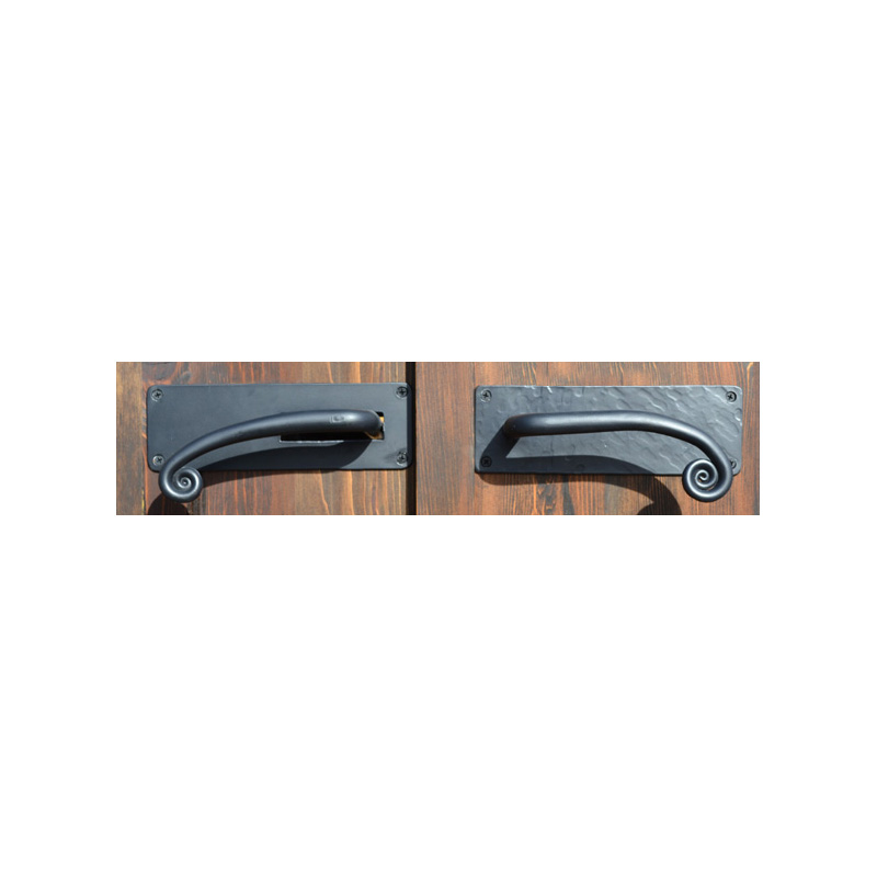 Door Pull - Door Handles Blacksmith Made
