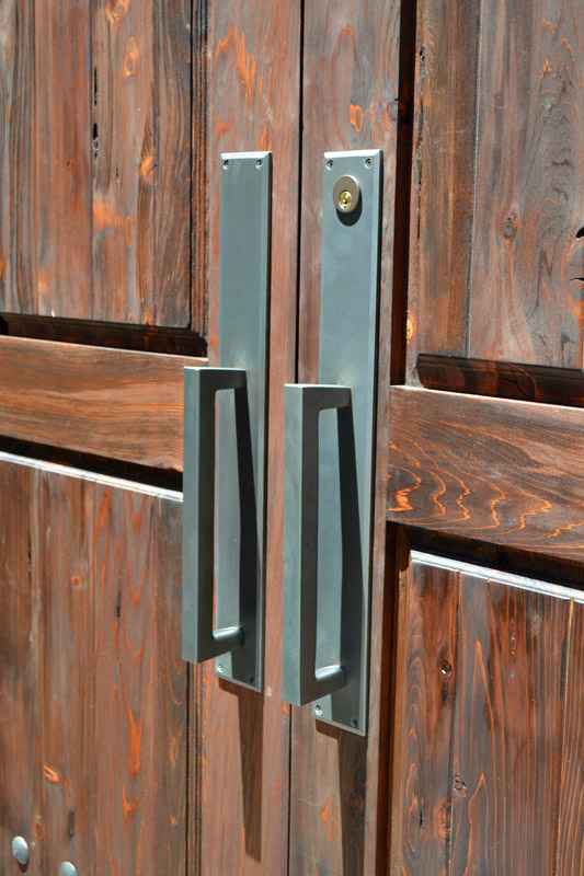 Double Doors With Wrought Iron Working Speakeasy \u2013 6414AT & Double Doors With Iron Speakeasy Pezcame.Com