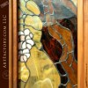 stained glass craftsman door
