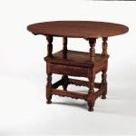 Metropolitan Museum Chair-Table   Solid Wood Hand Built