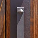 semi arched wood door