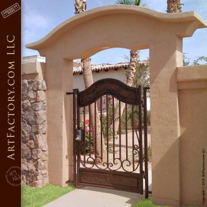 keyless entry gate