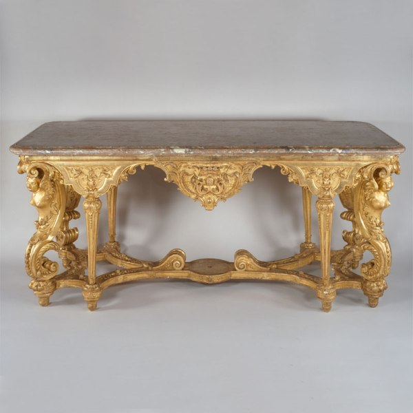 Gold Glided Table - Metropolitan Museum