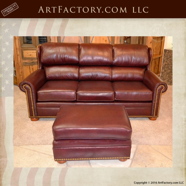 Swell Custom Wing Back Leather Sofa Fine Art Quality Luxury Furniture Creativecarmelina Interior Chair Design Creativecarmelinacom