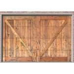 custom cross buck garage door