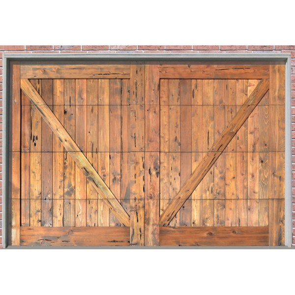custom cross buck garage door