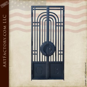 custom bank vault gate