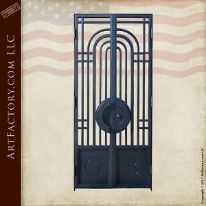 custom bank vault gate