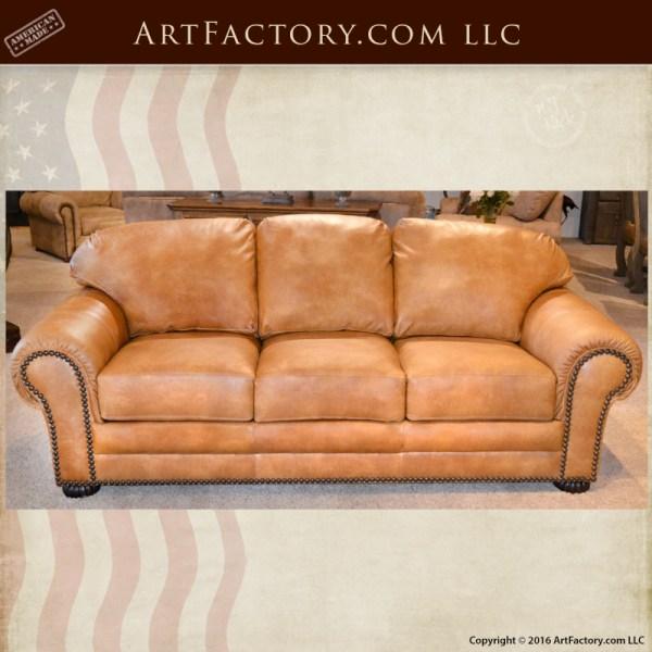 Custom-Leather-Sofa
