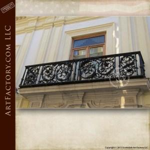 fine art balcony railing