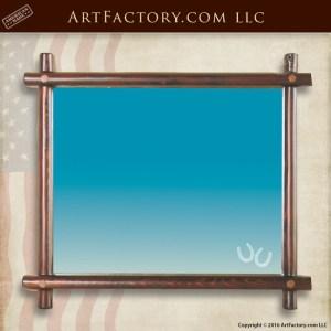 Custom Lodge Style Mirror