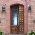 Door Historic Tuscan Castle Doors
