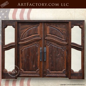 entrance double doors