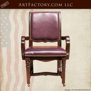 custom handcrafted executive chair