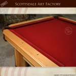 designer custom pool table
