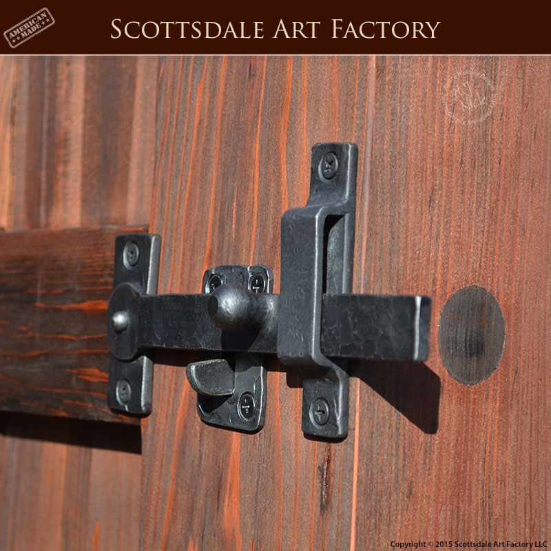 Wrought Iron Gate Latch Hand Forged By Our Master