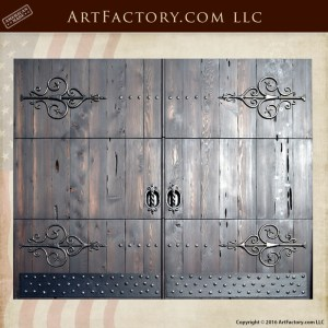 Roll Up Exterior Garage Doors