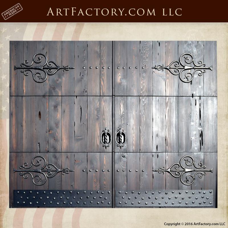 handmade wooden garage doors