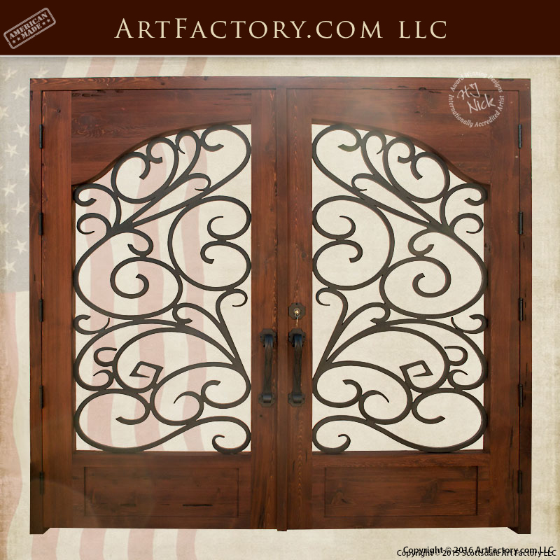 Traditional Style Security Gate