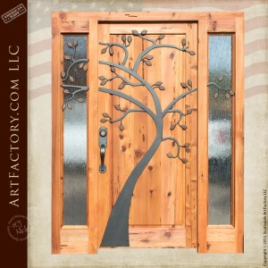 custom tree themed grand entrance