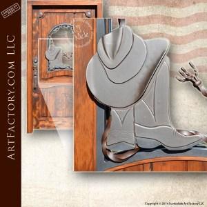 custom cowboy door