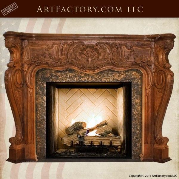 Fire Mantels, Screens & Mirrors