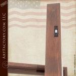 solid wood hand carved lodge door