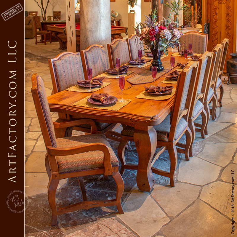 elegant french dining room table